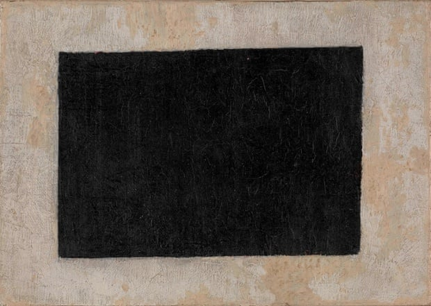 Black Quadrilateral, undated, by Kazimir Malevich.