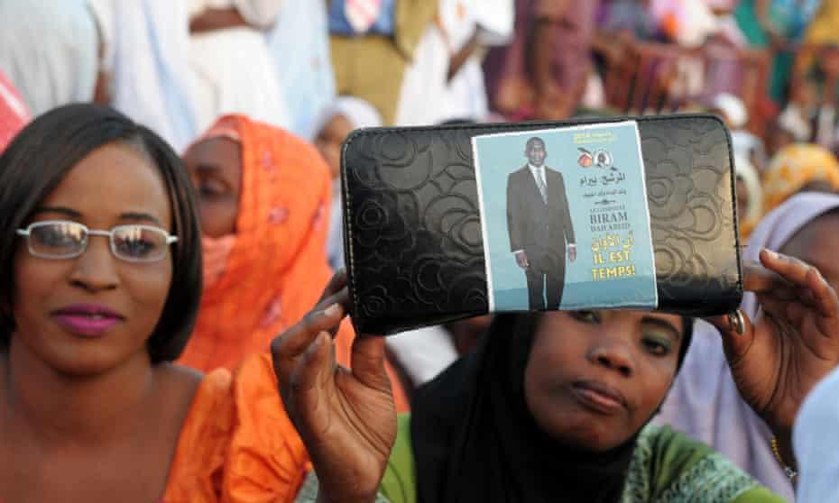 Mauritania opposition politician Biram Dab Abeid