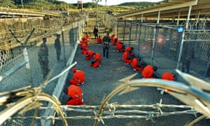 Guantánamo Bay pictured in 2002