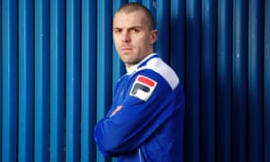 Rochdale midfielder Stephen Dawson at the club's training ground.