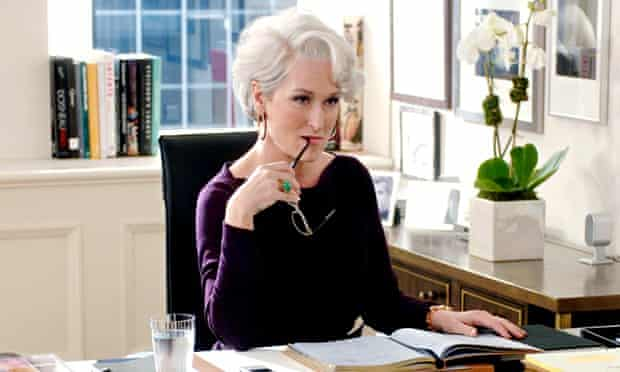 Meryl Streep in The Devil Wears Prada
