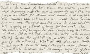conclusion to Slahi's diary