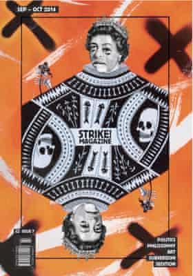A recent Strike! Magazine cover.