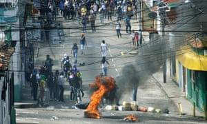 venezuela protest san cristobal