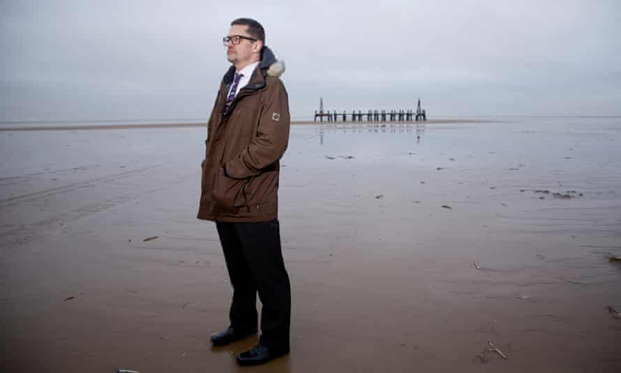 Engineer Mike Hill has met with government officials over his fears for the people living near the proposed fracking sites on the Fylde coastline