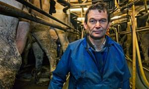 Dairy farmer Mark James