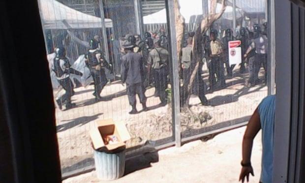 Manus Island unrest