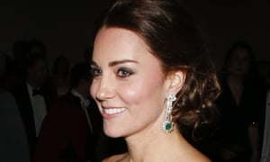Kate: doesn't throw her frocks away after one outing. Amazing.
