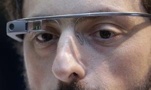 Google Glass. It does make you look like a twerp. Doesn't it?