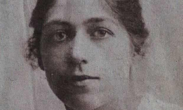 Ethel Lang, pictured at 20.
