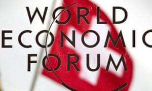 The annual meeting of the WEF takes place in the Swiss Alpine resort of Davos.