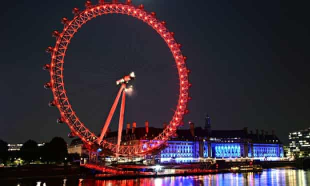 The new-look London Eye lit up in Coca-Cola red last week following the new sponsorship deal.