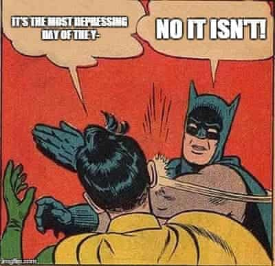 Batman depressing day