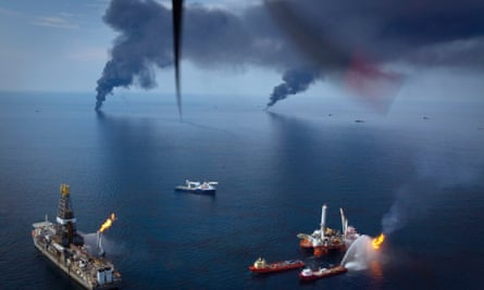 Deepwater Horizon spill in the Gulf of Mexico