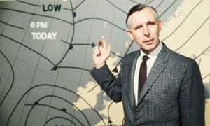 Jack Scott giving a BBC weather report