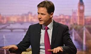 Nick Clegg Andrew Marr Show
