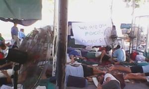 manus island hunger strike
