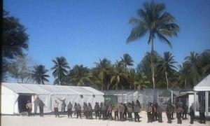 Oscar compound Manus Island
