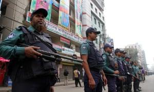 Dhaka, Bangladesh. Police
