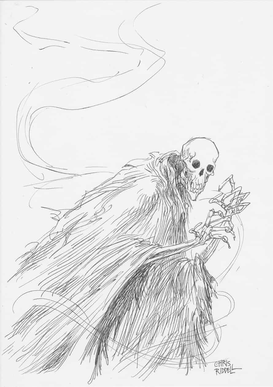 Chris Riddell  illustration