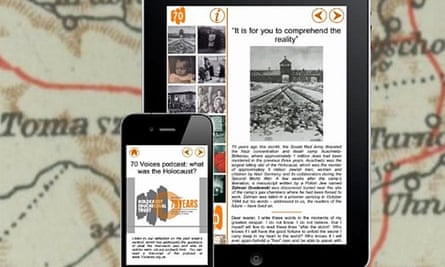 The 70 Voices app will offer first-hand Holocaust memories.
