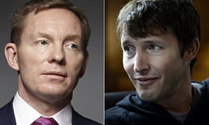 Chris Bryant and James Blunt have exchanged letters regarding an interview the shadow culture minist