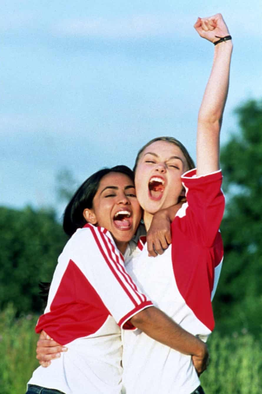 Parminder Nagra and Keira Knightley in Bend it Like Beckham
