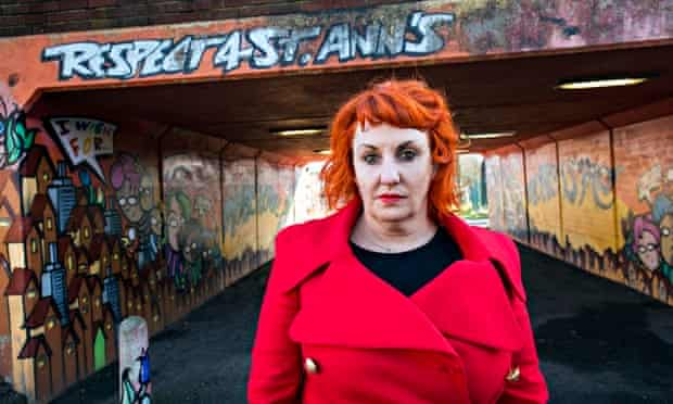 Lisa McKenzie on St Ann's estate, Nottingham