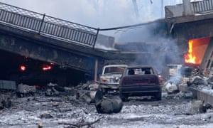 Situation Around Donetsk Airport