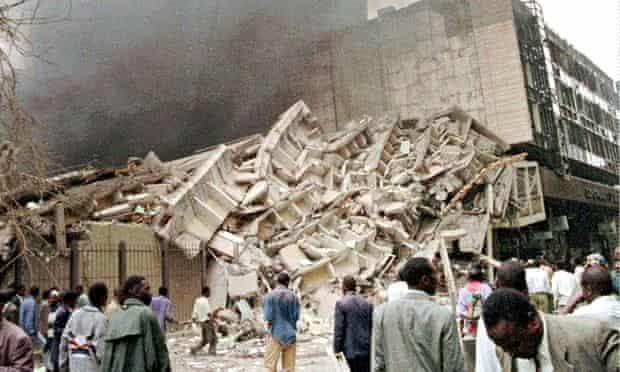 US embassy bombing in Nairobi in 1998