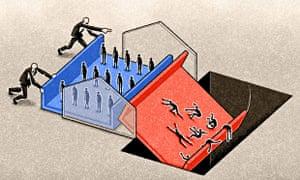 Agency workers illustration by Matt Kenyon