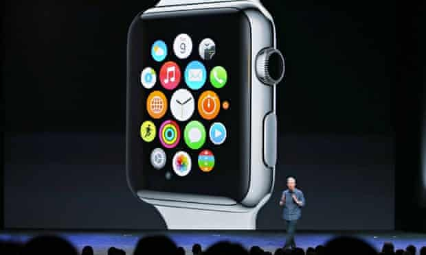 Prof Sir Bruce Keogh, NHS England's medical director, believe wearable technology, like Apple's Watc