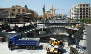 beirut city centre reconstruction 2012