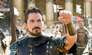 Christian Bale as Moses, in Exodus: Gods and Kings