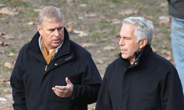 Prince Andrew and Jeffrey Epstein go for a stroll together through New York's Central Park.Credit: News of the World.Online rights must be cleared by NI Syndication.royal family, friends, group, fl, Jeffrey Epstein, Prince Andrew