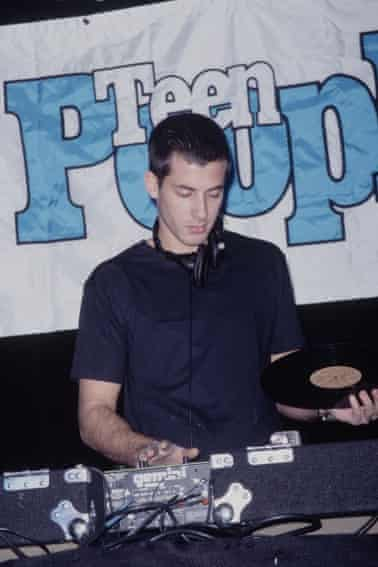 A young Mark Ronson in 1990