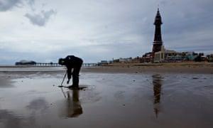 Blackpool metal detector