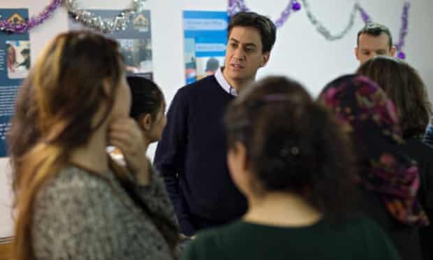 Ed Miliband visits Marylebone Project