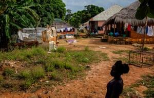 A village in Guinea Bissau
