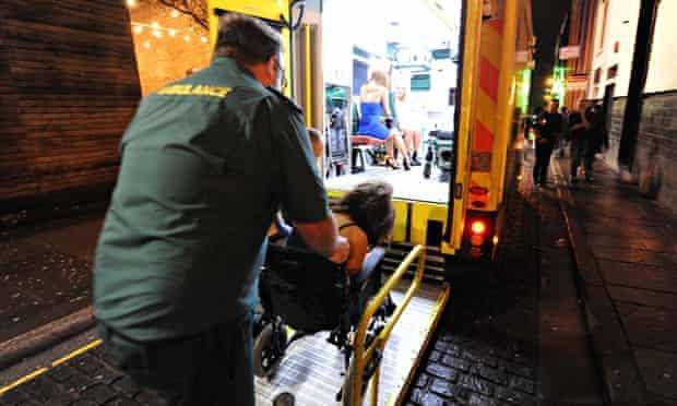 ambulance in liverpool