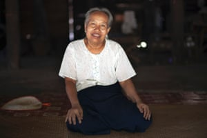 Portrait of DO, a 69-year-old from Lad Pan Gene village, Burma