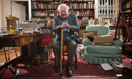 Richard Adams at home in Hampshire