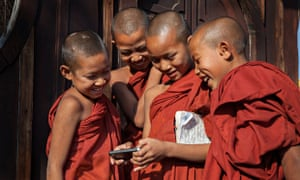 Mobile phones have changed the world, for better or worse