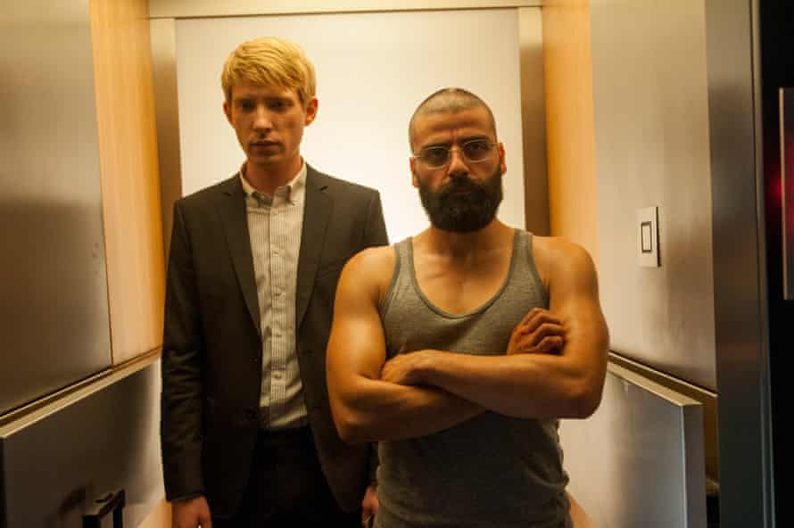 Domhnall Gleeson and Oscar Isaac in Ex Machina: 'Managing to persuade them to do it, that's the success,' says Garland.