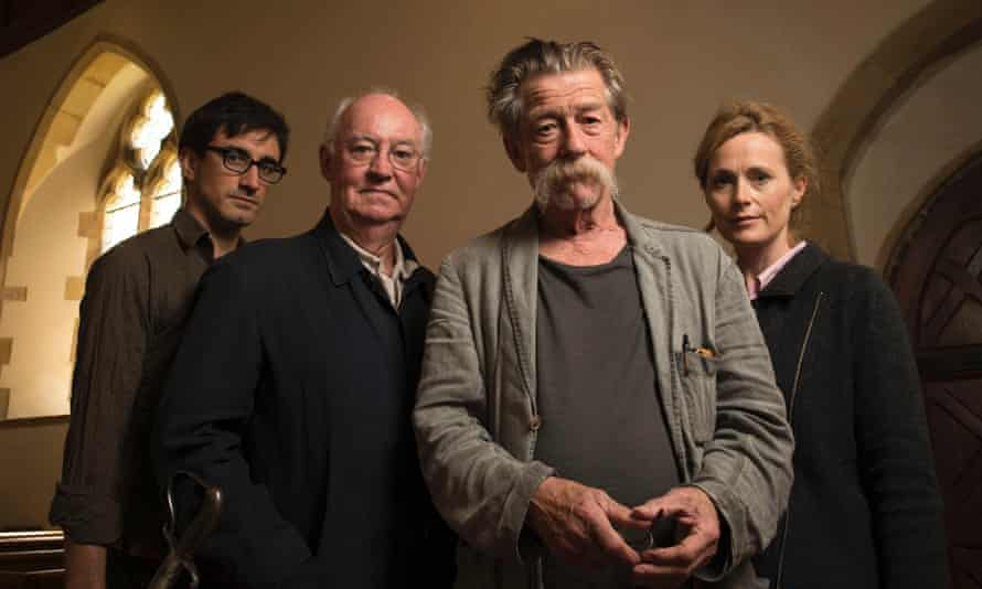 Ferdinand Kingsley, David Calder, John Hurt and Natasha Little recorded War and Peace in a hotel in Lewes.