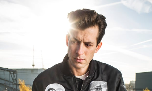Mark Ronson in King's Cross, London.