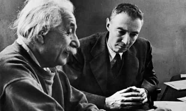 Albert Einstein and Robert Oppenheimer