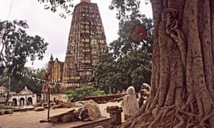 Bodh Gaya in Bihar, India, is a place of pilgrimage in Buddhism.