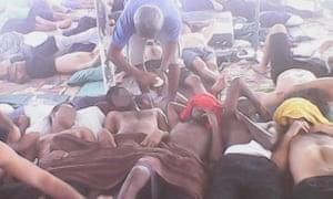 Manus hunger strike