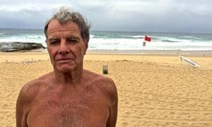 Shark warnings: Tommy Morgan at Newcastle beach